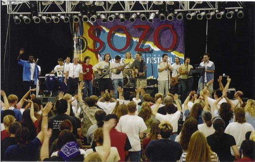 """Every tribe and language and people and nation"" SOZO 2002"