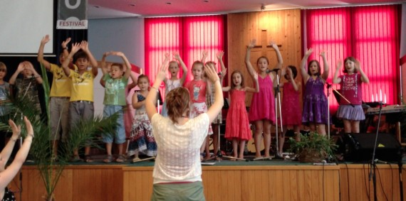 Children's School of Worship was so cute!