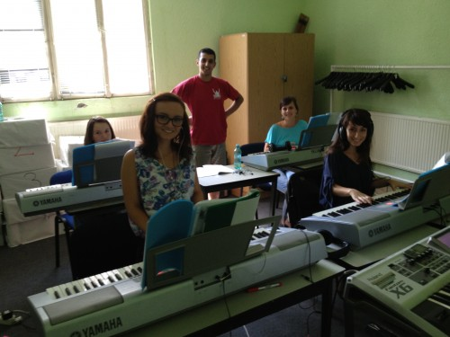 Keyboard Lab with Florian