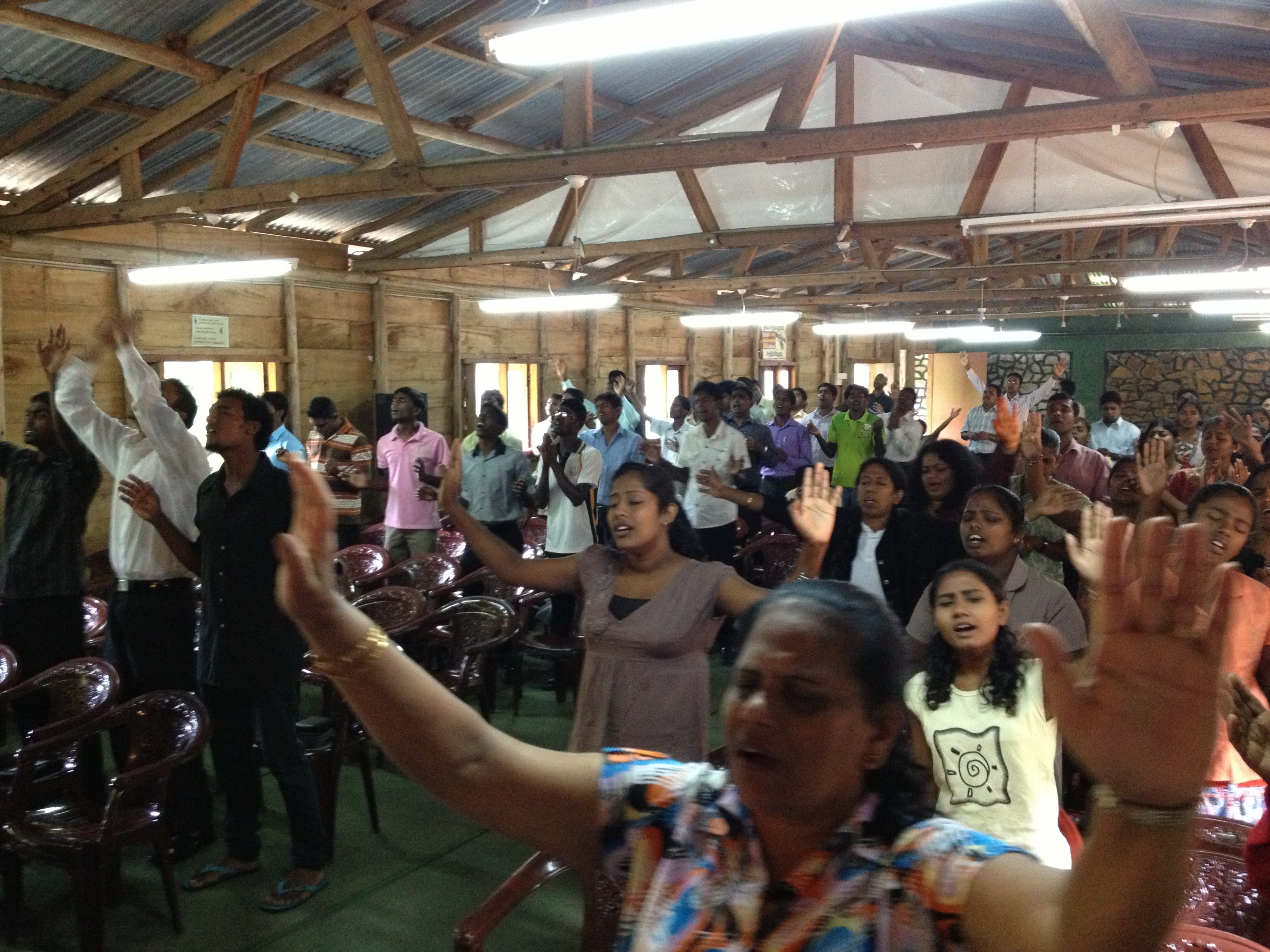 Sri Lanka Worship Conference in the Hill Country