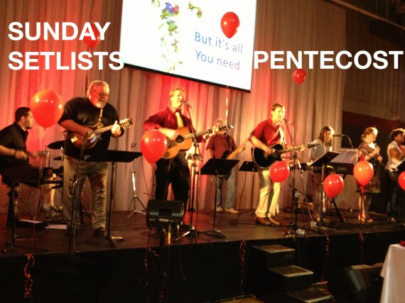 Pentecost Sunday, Contemporary Service Hendersonville First United Methodist Church 2013