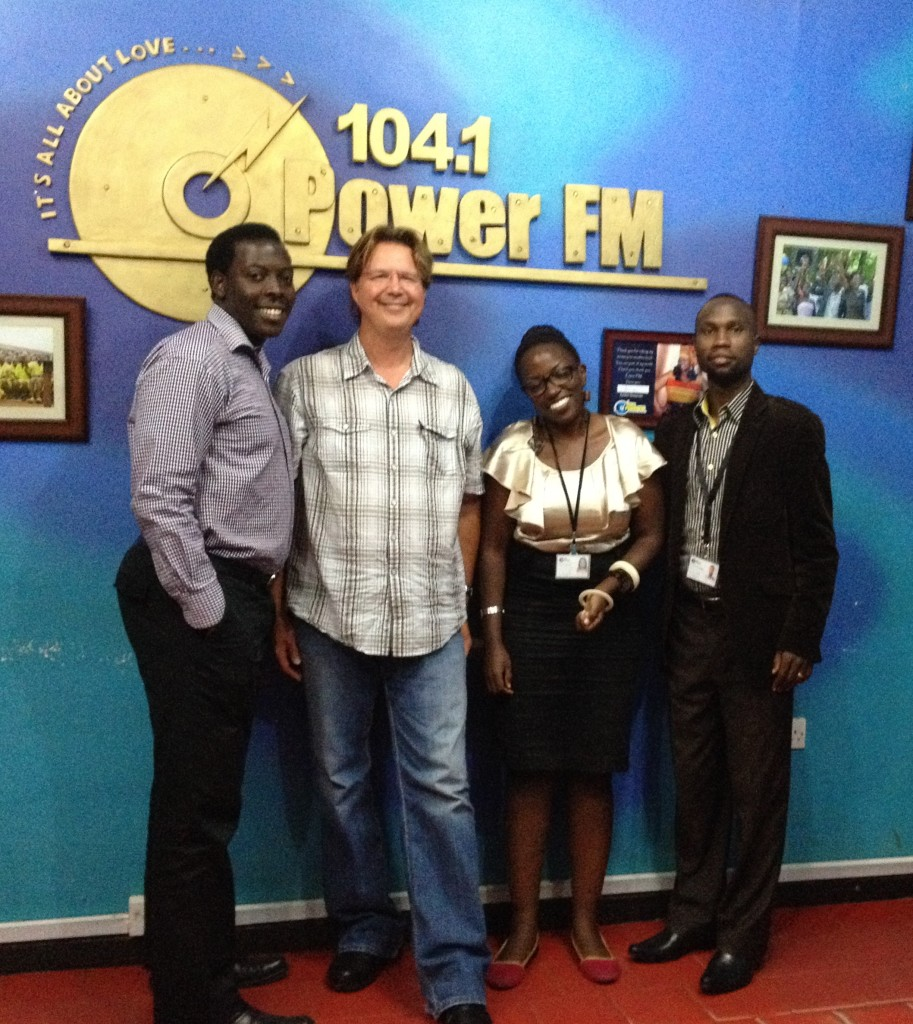 Radio interview with PowerFM, Uganda
