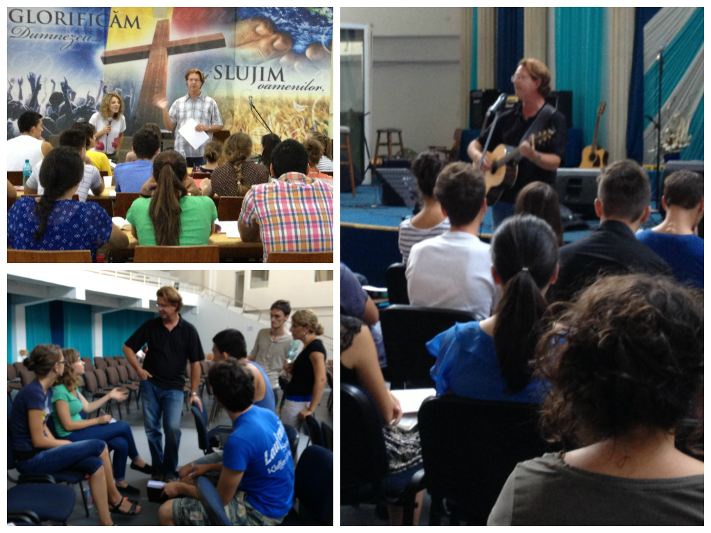 Teaching Theology and Songwriting at the Scoala de Inchinare