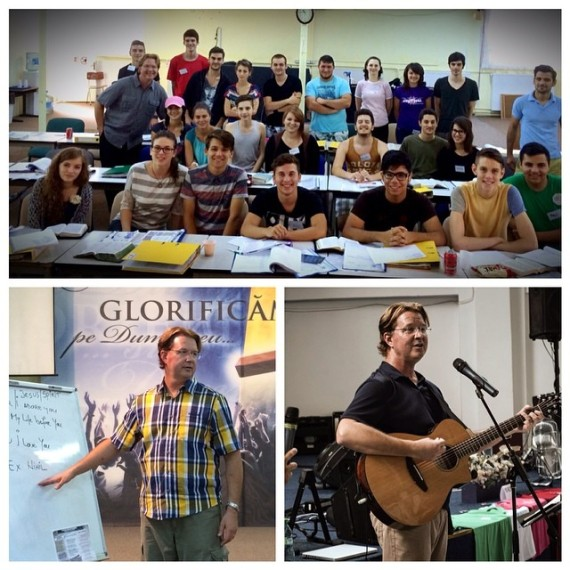 Teaching Level 1 Practical Theology of Worship; and Songwriting Worskshop