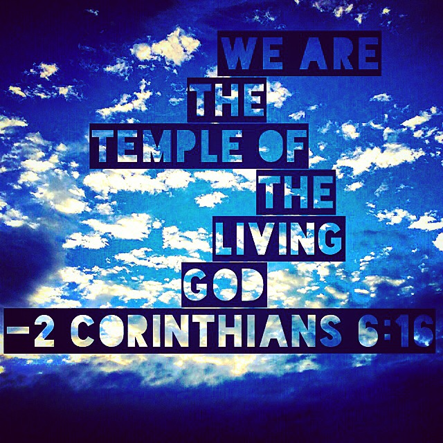 We Are The Temple of The Living God