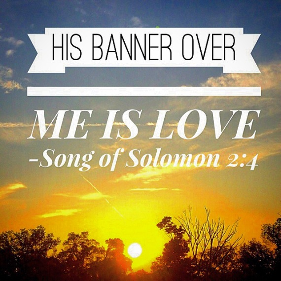 His Banner Over Me Is Love, Song of Solomon 2:4
