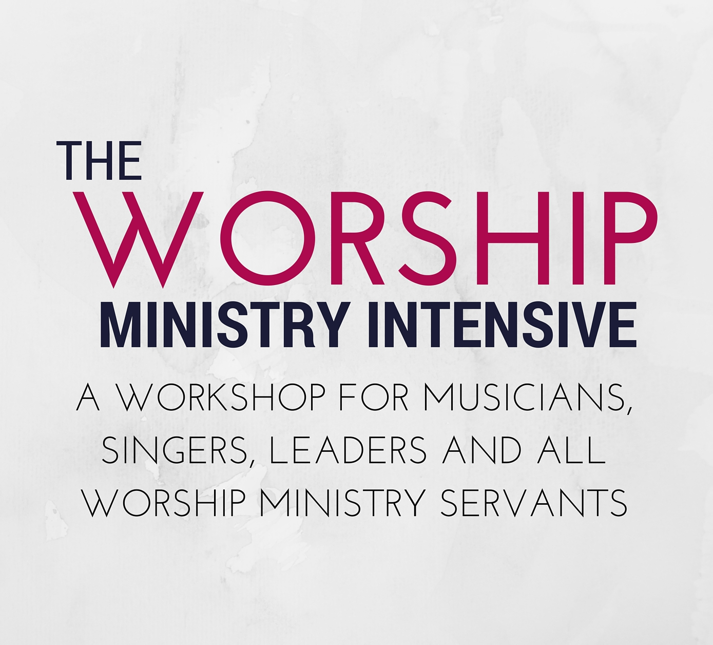 praise and worship workshop pdf