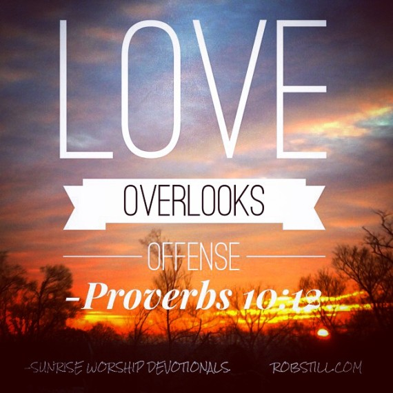 Love overlooks Sunrise 2-23-15