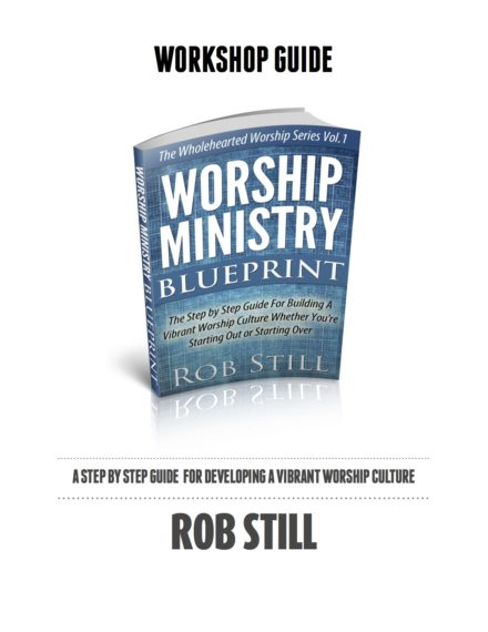 Worship Ministry Blueprint Workbook Cover
