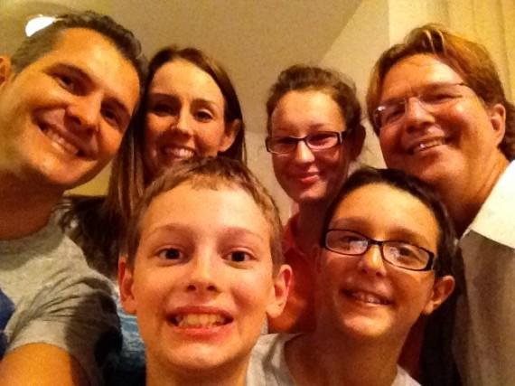NIck , Carol, Rachel, Joshua, Nicolas Decean family