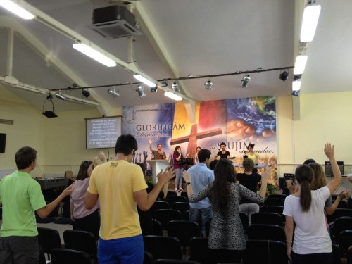 Afternoon worship is energizing!