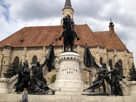 Statue of Matthias Corvinus, The Greatest Hungarian / Romanian King