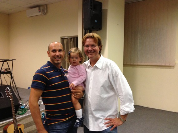 Mihai Decean, pastor of the church in Ocna Mores and an awesome guy!