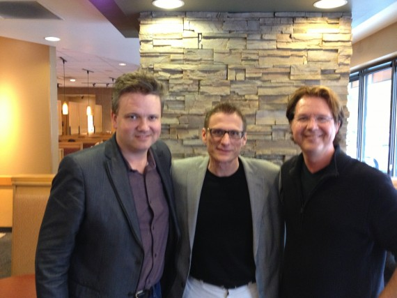 Keith Getty (In Christ Alone),  Eric Wyse (Wonderful Merciful Savior)