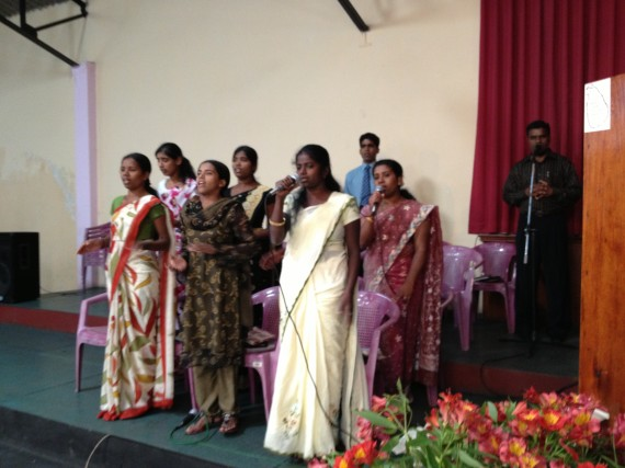 Sunday Worship in Sri Lanka