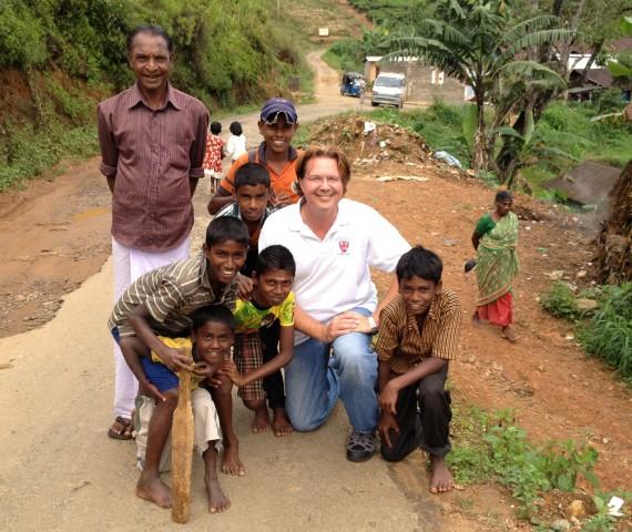 Tamil Tea Estate Children