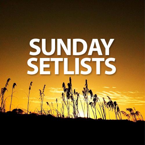 sunday-setlists-2013