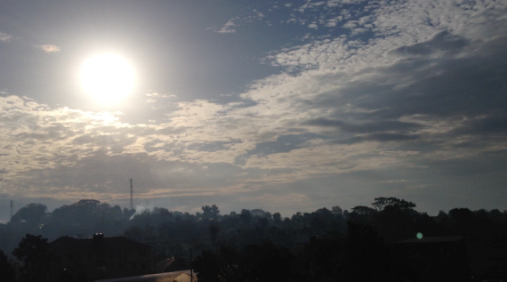 Sunrise in Kampala, Uganda