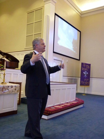 Senior Pastor Don Hutchinson