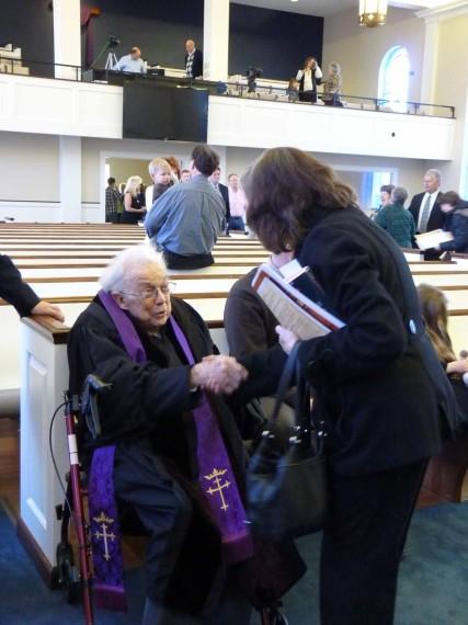 Rev. Ben Alexander 94th Birthday