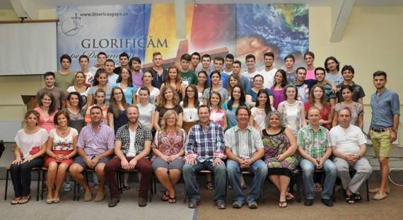 School of Worship (Scoala de Inchinare) Class of 2013, Timisoara, Romania