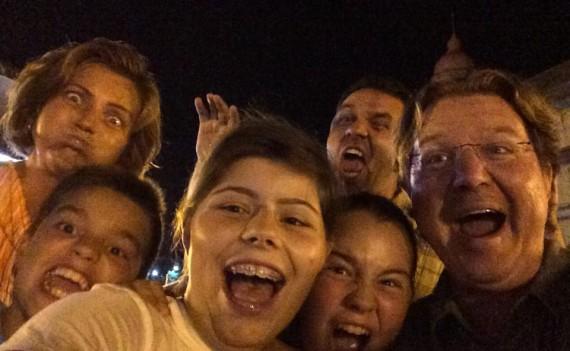 Fun with the Olariu kids
