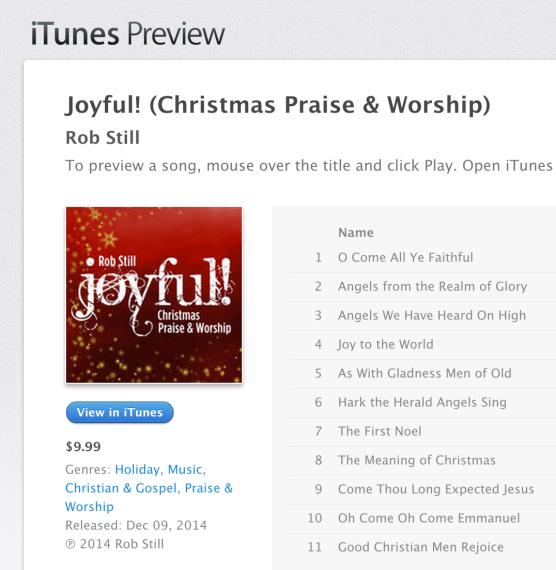 Itunes joyful