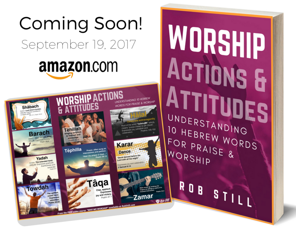 Worship Actions & Attitudes Hebrew Praise Words